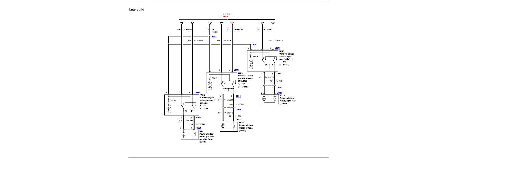 power window circuit breaker location  power  get free