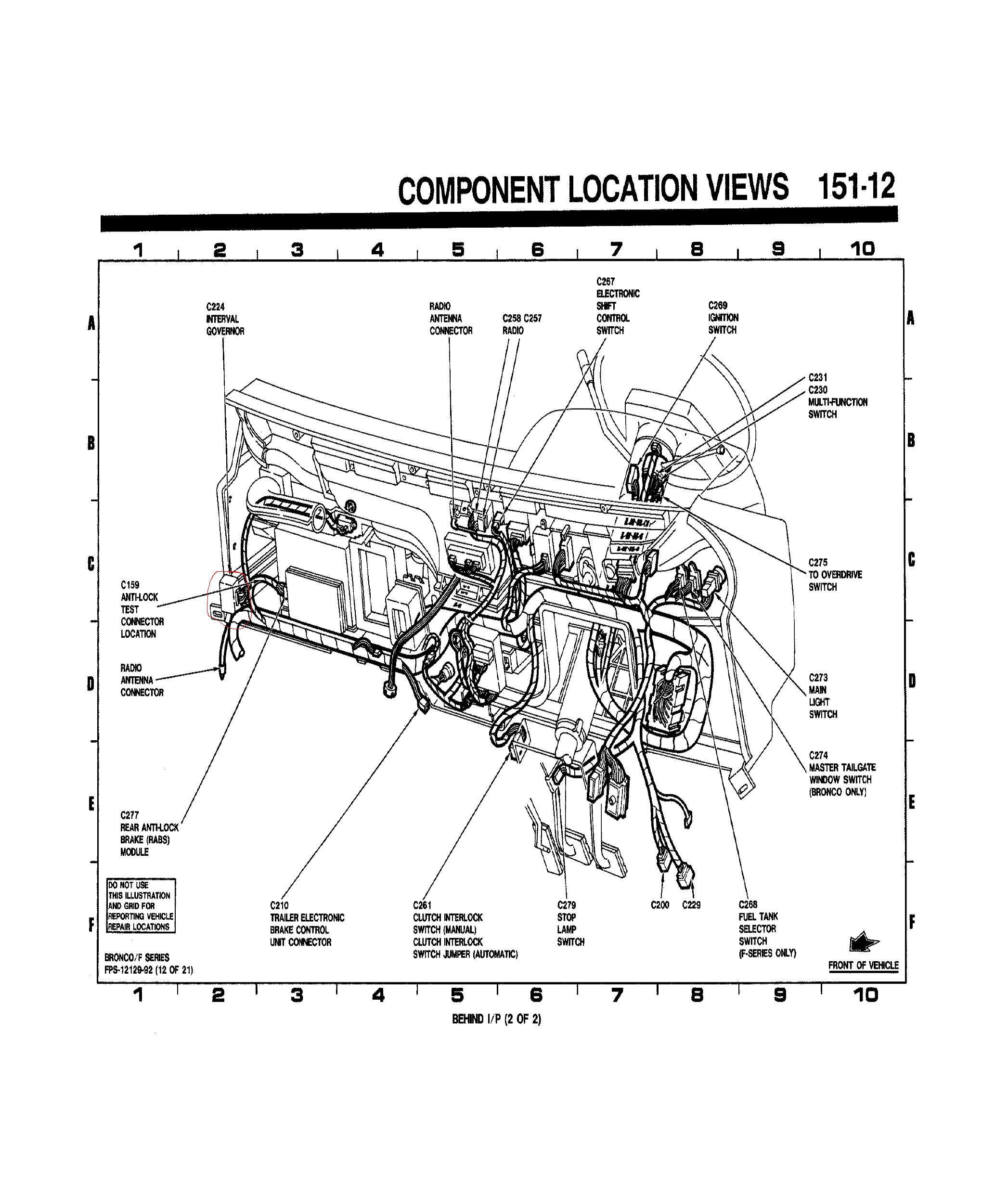 ford  my wiper motor direct  everything  wringing diagram