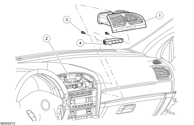 lincoln ls front bumper diagram