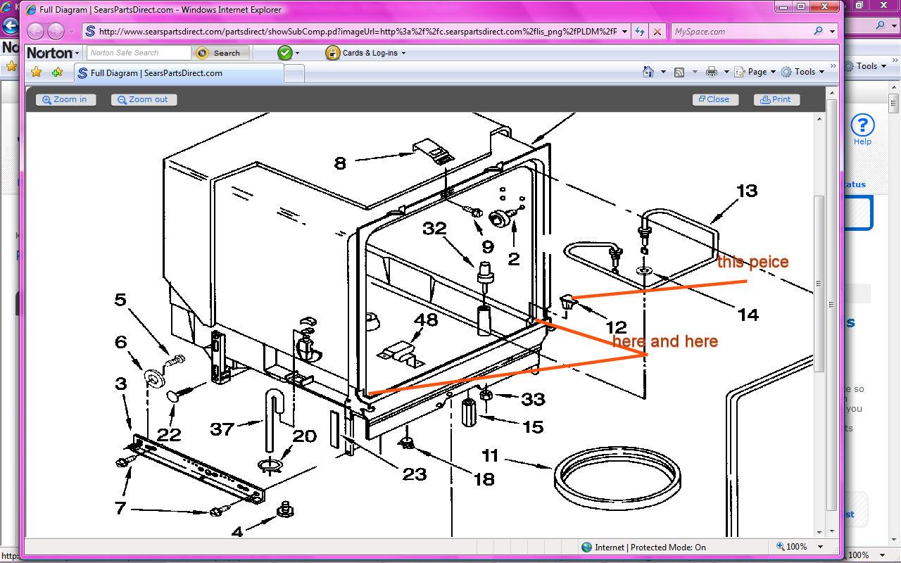 download kenmore dishwasher 665 owners manual free ... dishwasher schematics #15