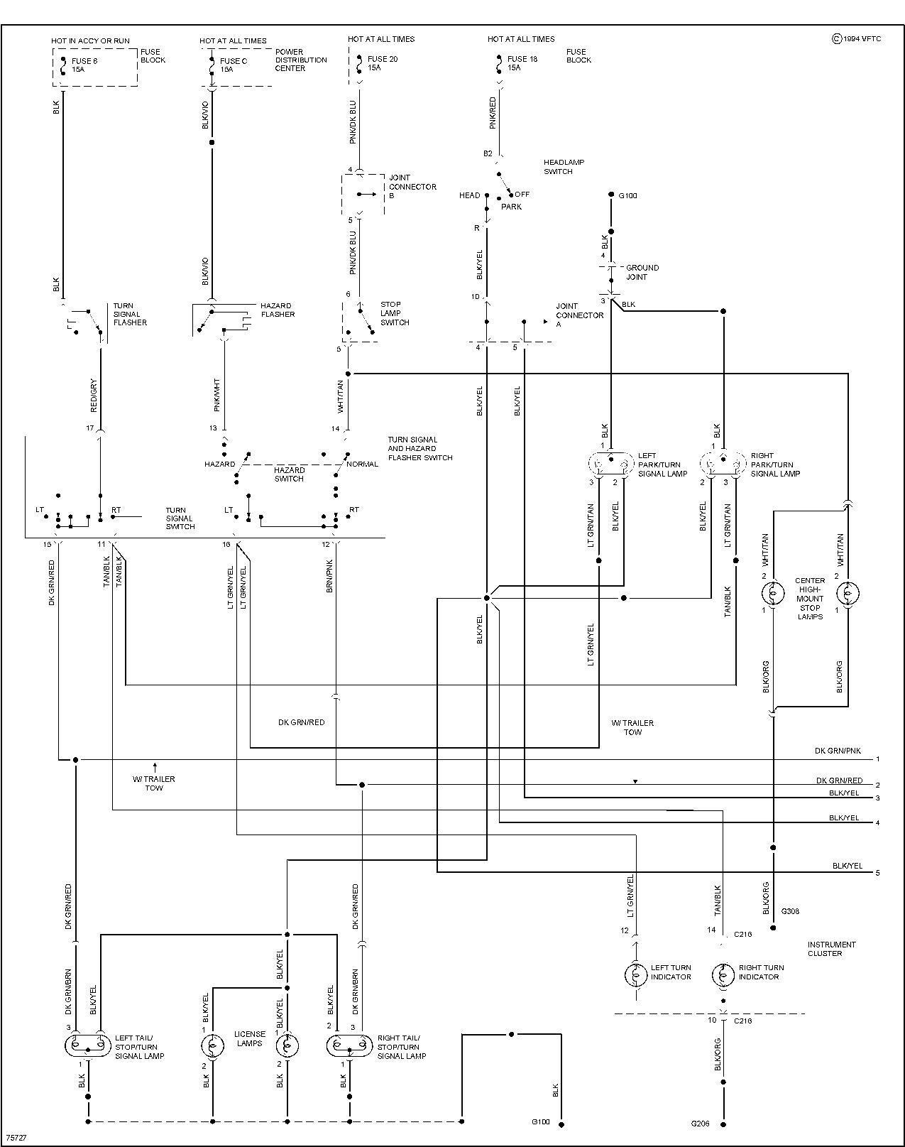 96 dodge ram 1500 wiring diagram