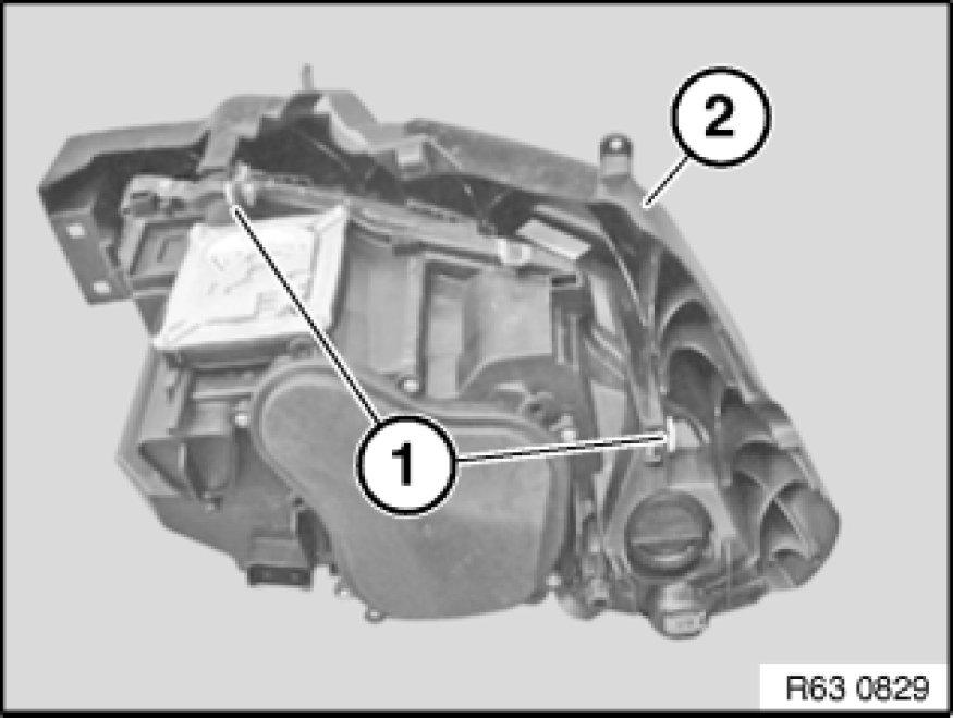 2006 Bmw X5 Headlight Removal