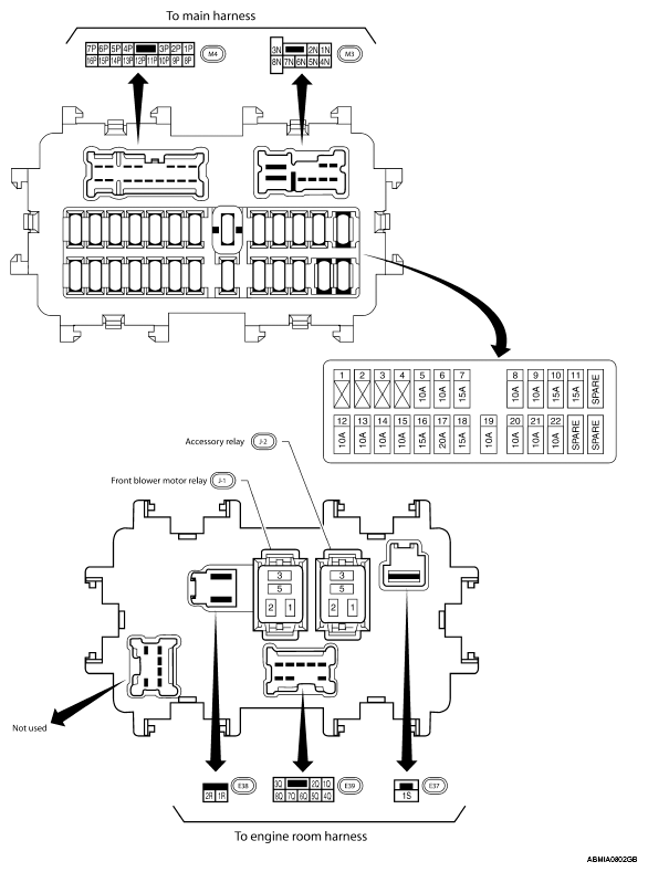 2010 nissan rogue fuse diagram  2010  free engine image