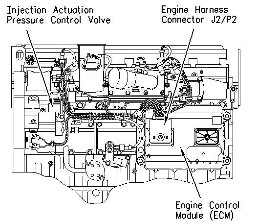 Caterpillar C13 Intake Actuator Oil Pressure Sensor