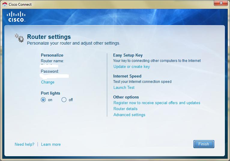 Cisco Connect Software E2500