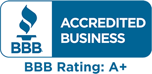 BBB - Accredited Business, A+ Rating
