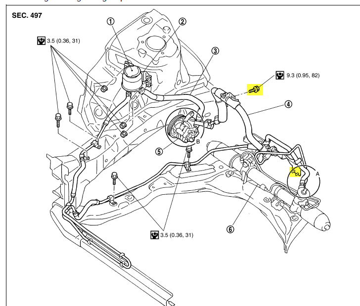 Graphic: 2007 Nissan Maxima Power Steering Diagram At Sergidarder.com