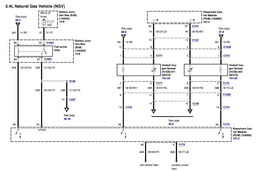 Need Wiring Diagram For E450 Ford Cng Powered Shuttle Bus