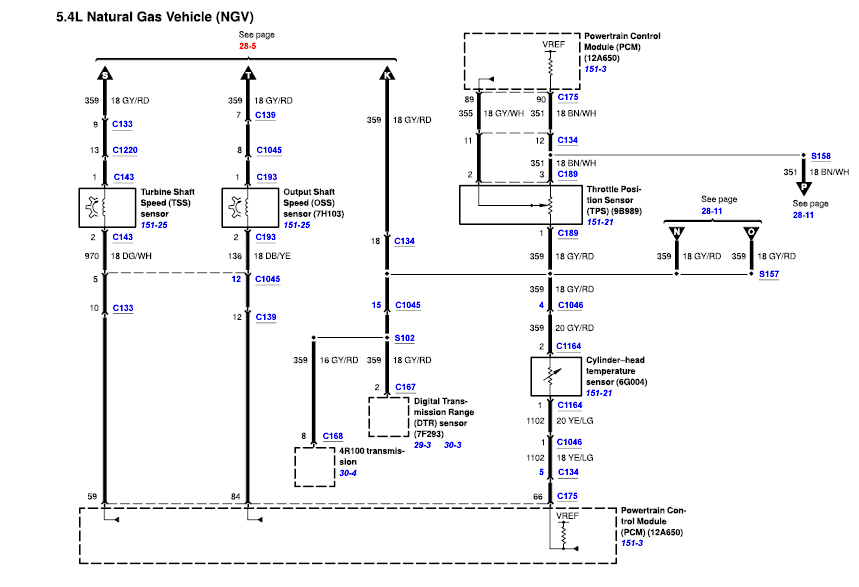 1990 ford e150 wiring diagram 2005 ford e150 wiring diagram schematic #10