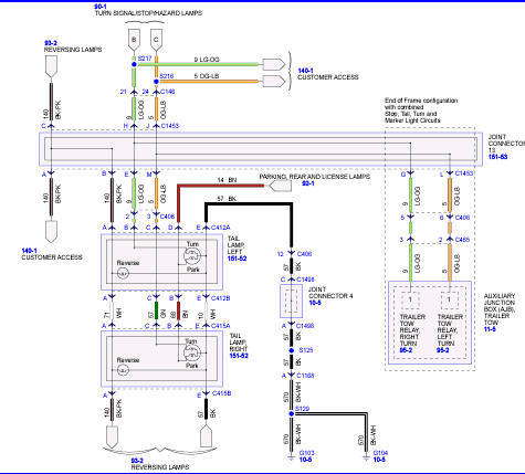 ford fuse box schematics four way flashers not working in a 2009 750 turn signals