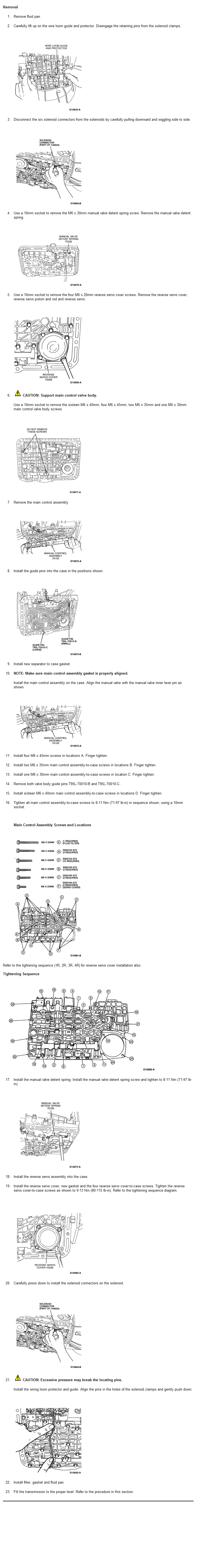 Ford Explorer Transmission Solenoid O2 Sensor Speed Issue 4r55e Wiring Diagram Graphic