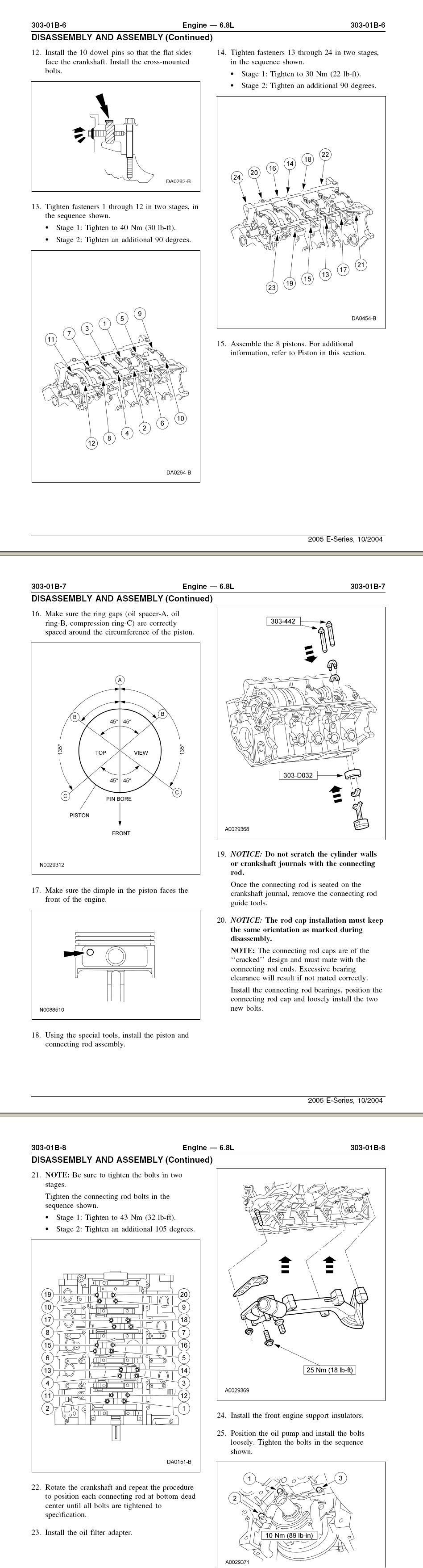 V10 Timing Chain Settings 2004 5 4 Triton Engine Diagram Graphic