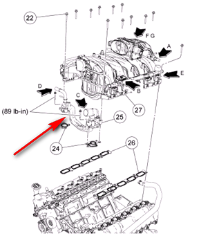 ford v6 engine diagram