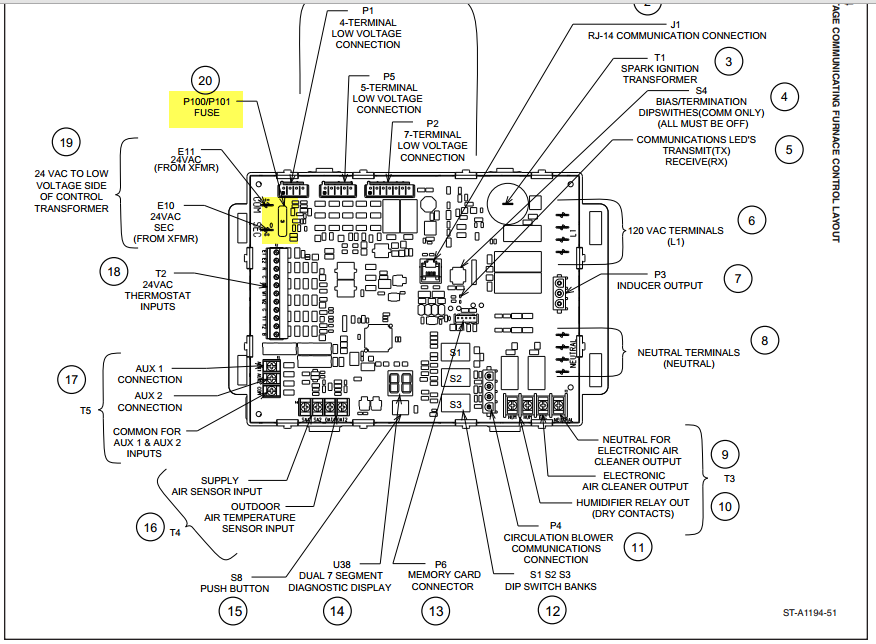 how to reset a r96v furnace