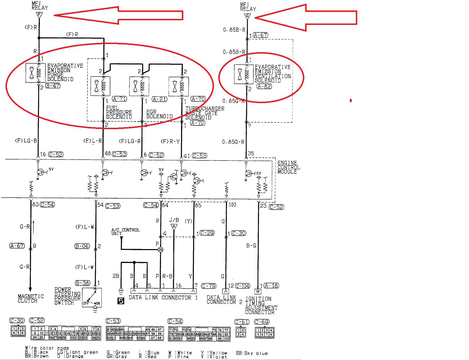 Misubishi 3000gt Wiring Diagram Page 2 And Schematics 1994 Fuse Mitsubishi Efcaviation Com 1993 Radio