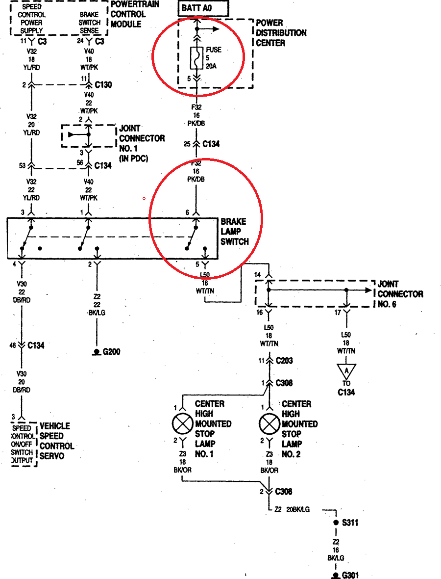 wiring harness diagram for 1998 dodge ram 3500