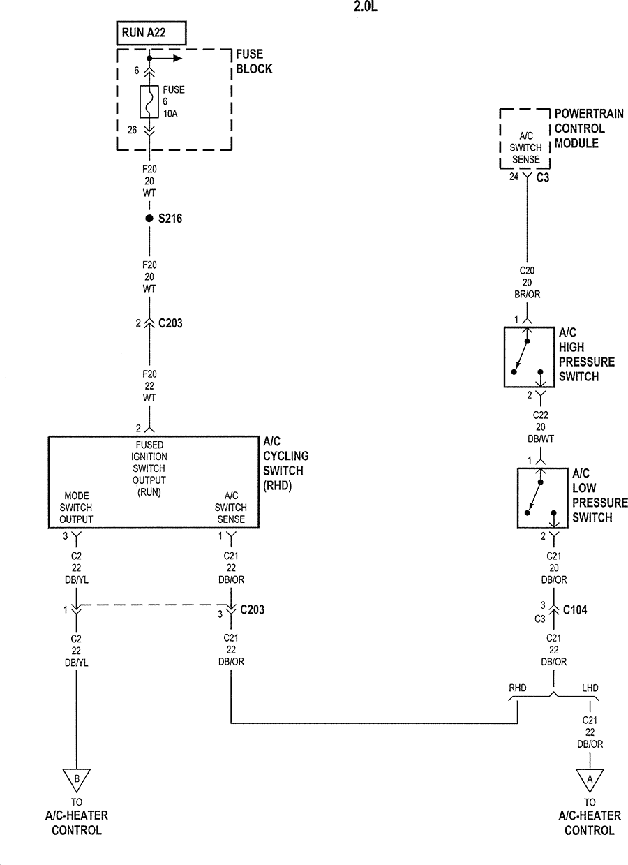 Dodge Neon Air Conditioning Diagram Trusted Wiring Diagrams Ford Aerostar 2004 Circuit Connection U2022 2005