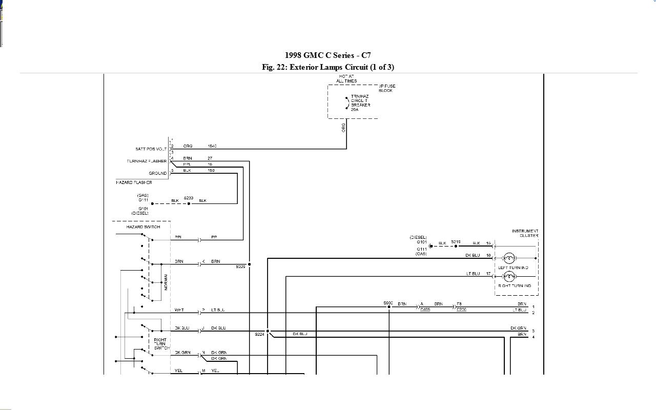 2004 Gmc T7500 Chis Wiring Diagrams C8500 Typhoon Diagram T On Topkick