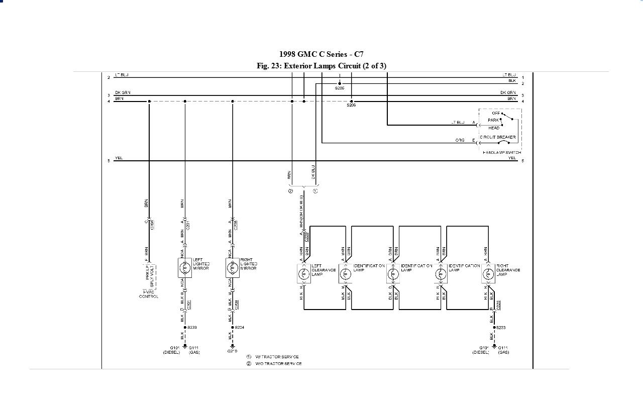 gm c7500 wiring diagram pdf impala wiring diagram wiring