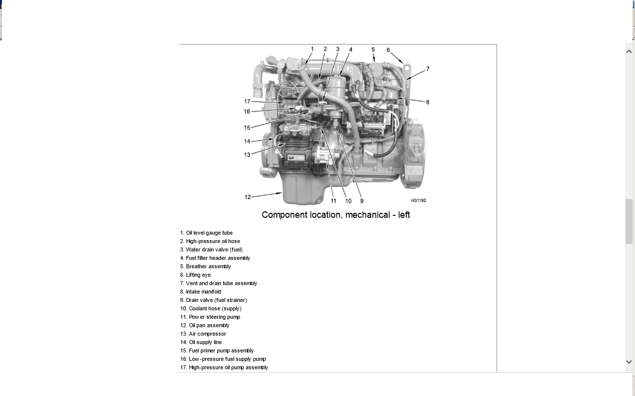 International Dt466 Engine Diagram Wiring Diagrams 2007 4300 Icp Sensor Location
