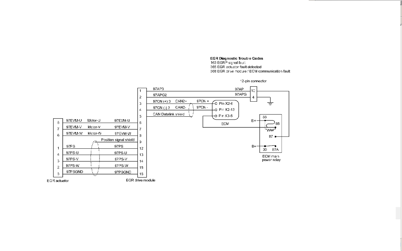 i have a 2005 international 4300 active code of 368 fmi 7 egr rh justanswer  com 1955 International Pickup Wiring Diagram 06 4300 International DT466  Wiring- ...