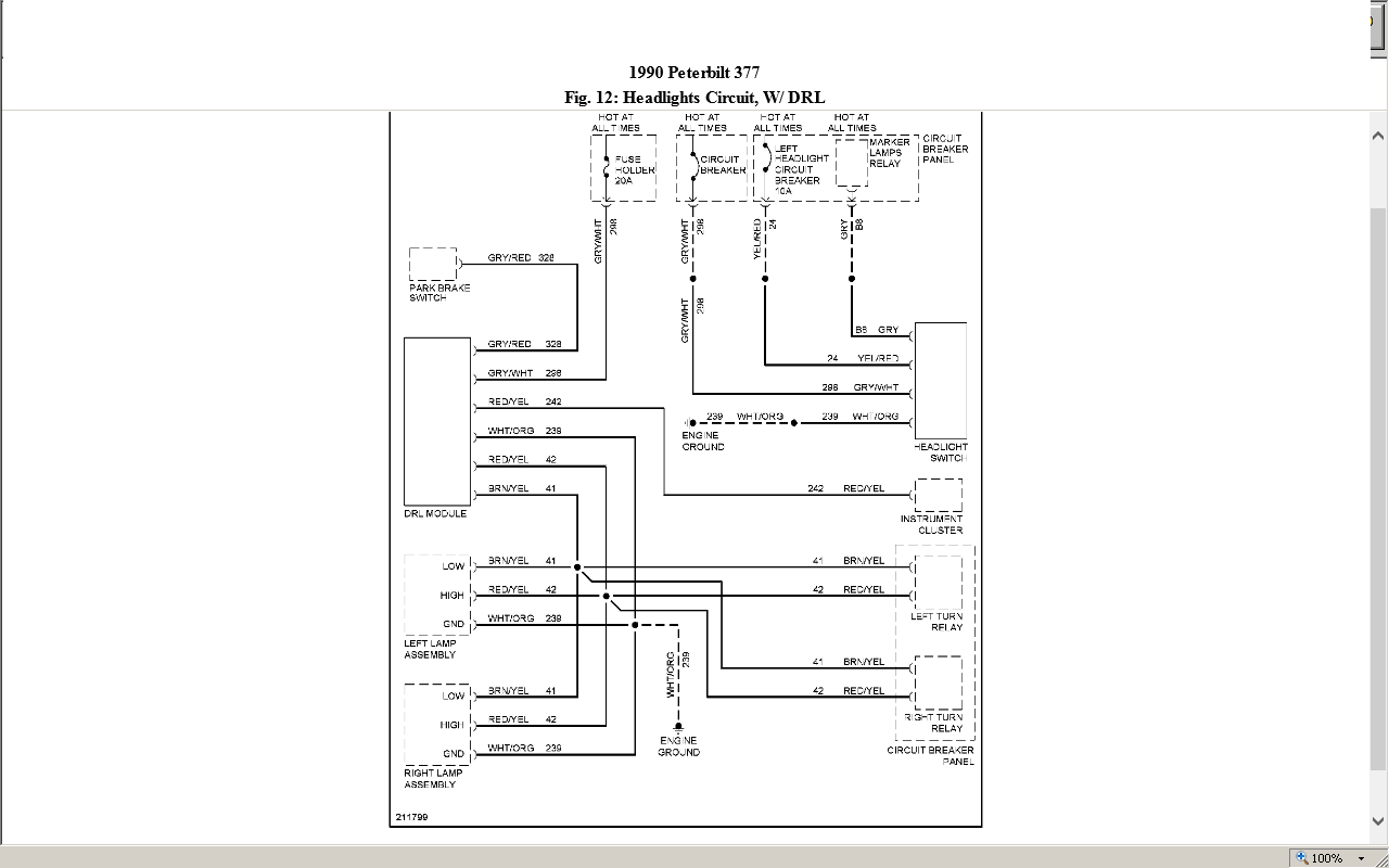 wiring diagrams for 377 peterbilt trucks