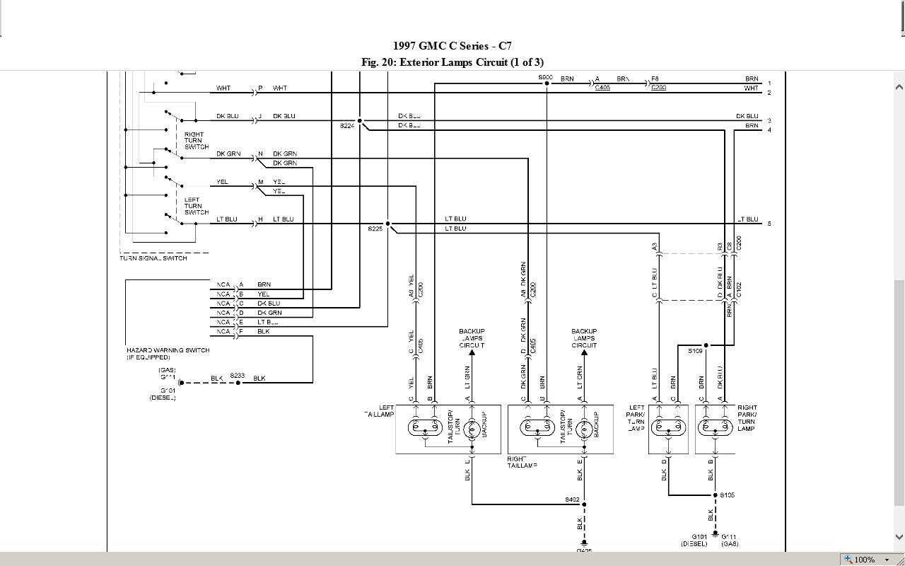 tiger truck wiring diagram html
