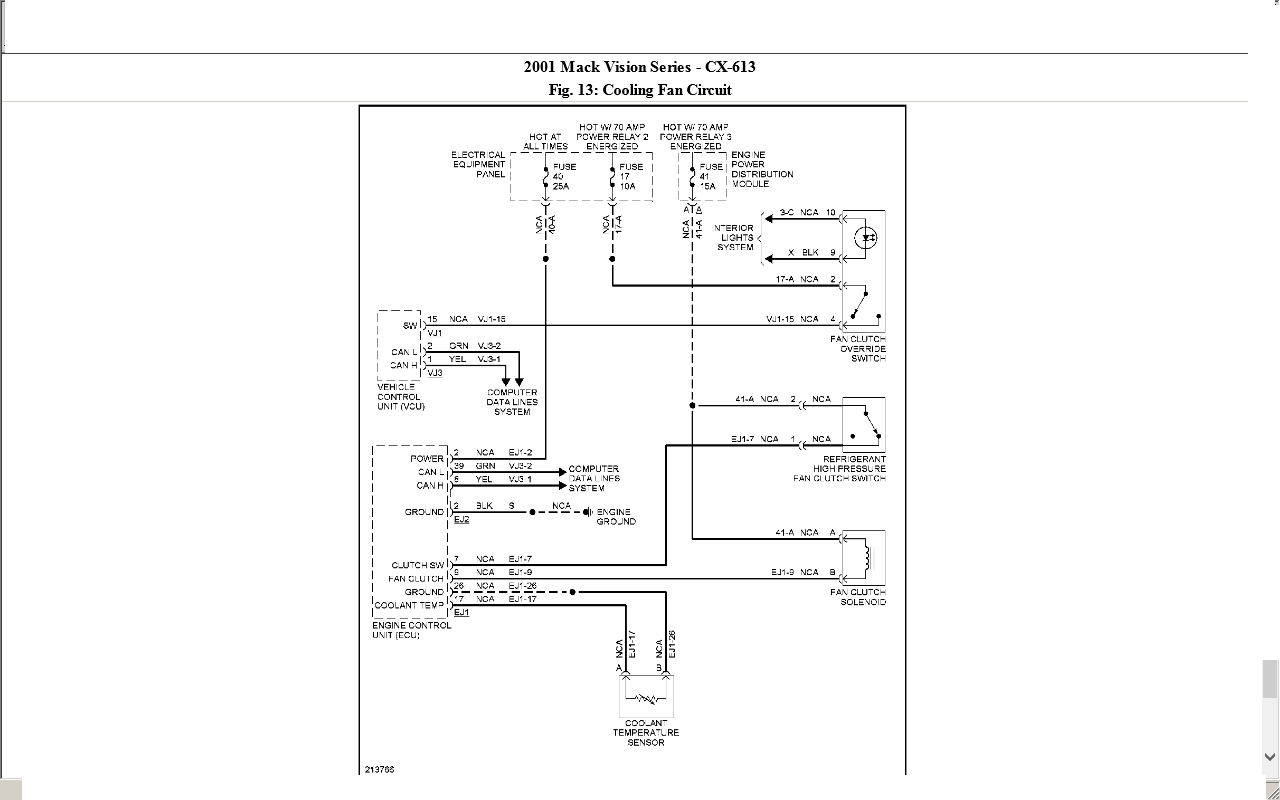 1999 Freightliner Fan Clutch Wiring Diagram - Wiring Diagram K8 on
