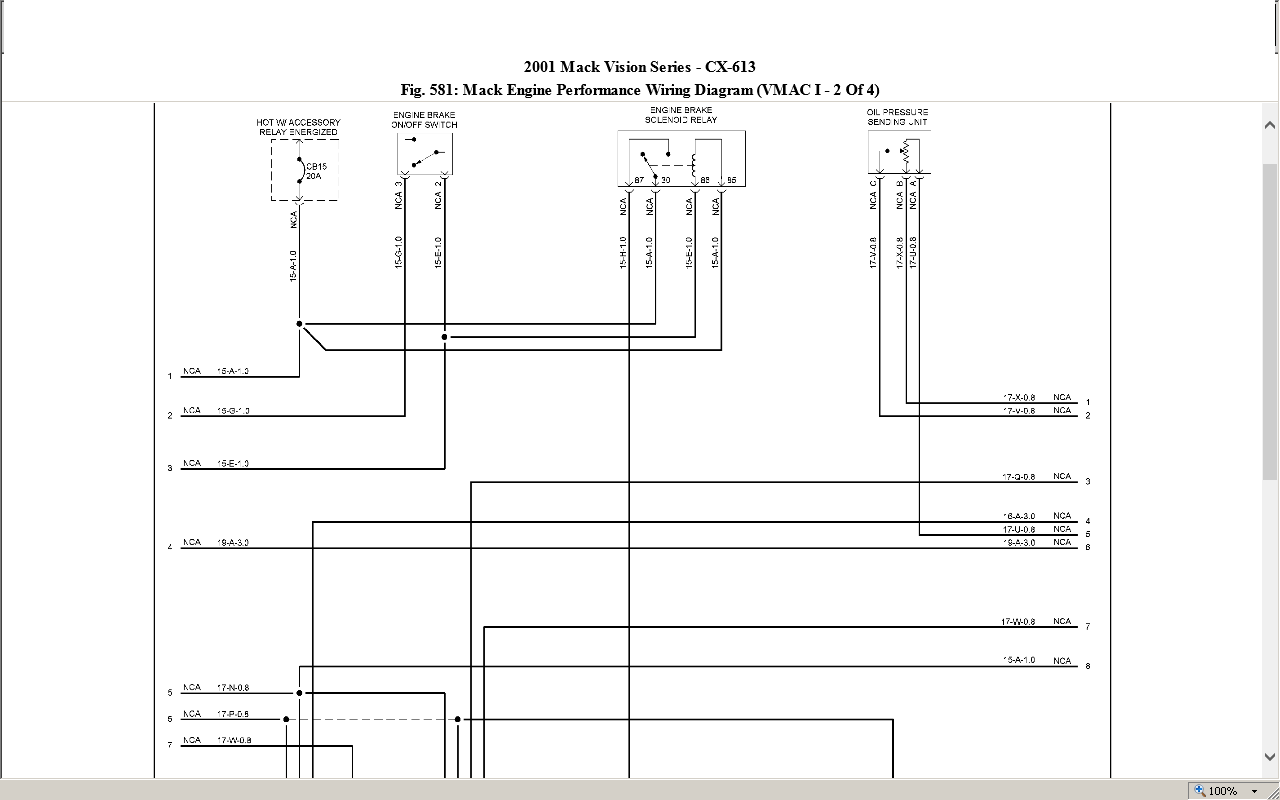 Mack Vision Fan Clutch Wiring Diagram Will Be A Thing 2002 Kenworth I Have 2000 Model Cx613 And Am Having Problems With The Rh Justanswer Com Connector 02 402 Trailblazer