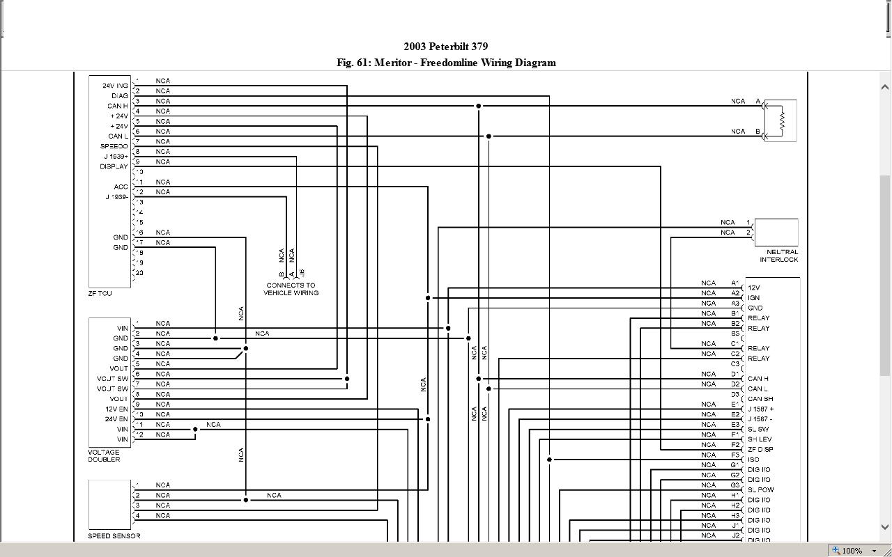 WRG-7792] Zf Meritor Transmission Wiring Diagram on