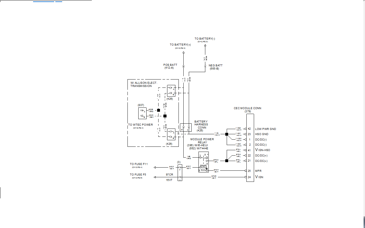 97 powerstroke fuel system diagram