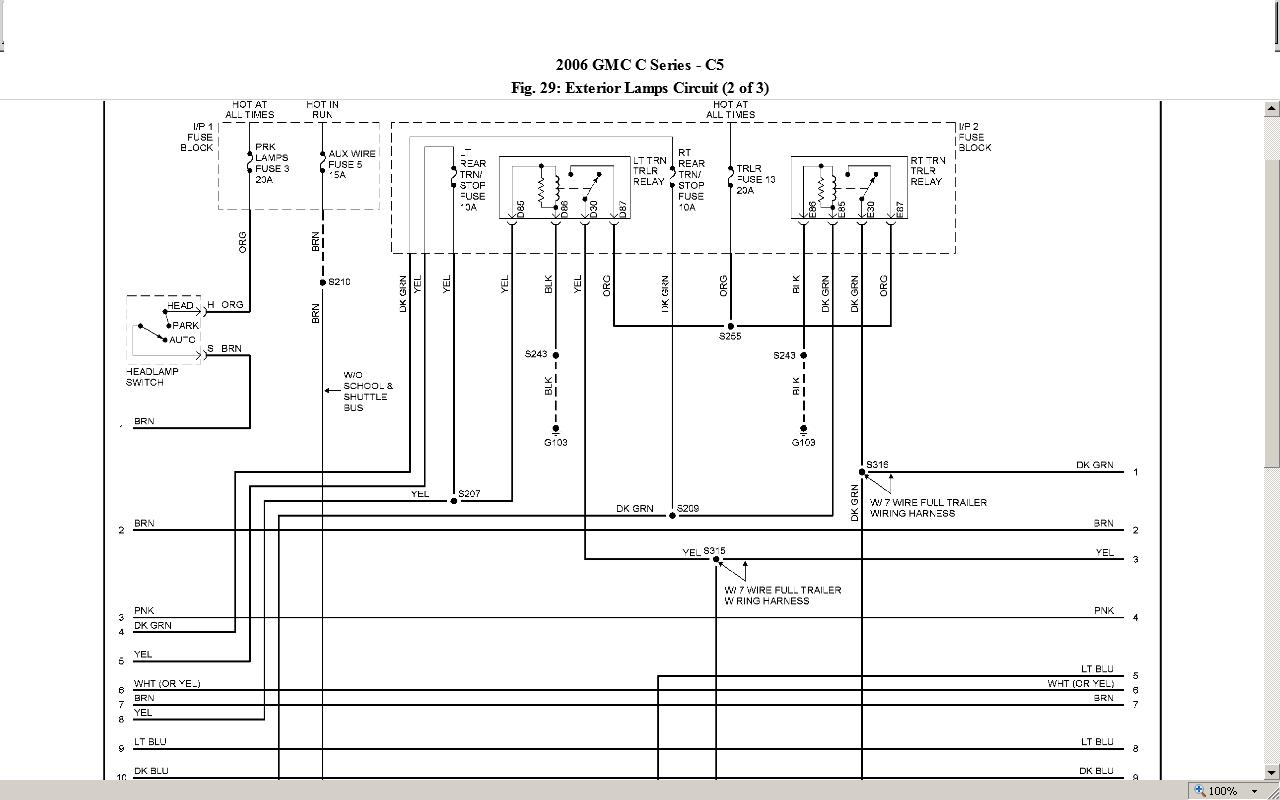 06 chevy c5500 transmission wiring diagrams  u2022 wiring