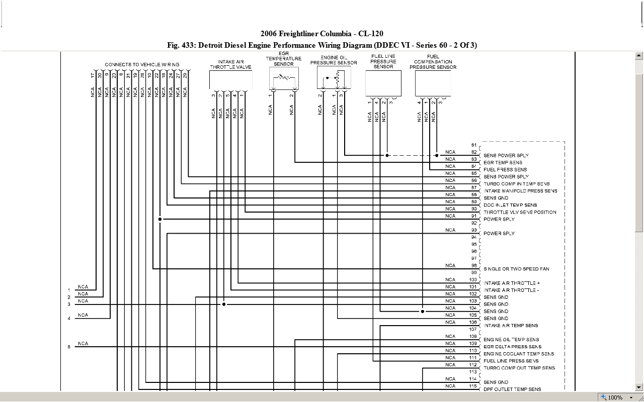 Detroit Diesel Wiring Diagram