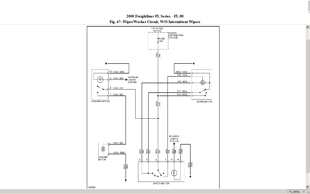 Diagram  Frightliner Fl80 Fuse Box Diagram Full Version