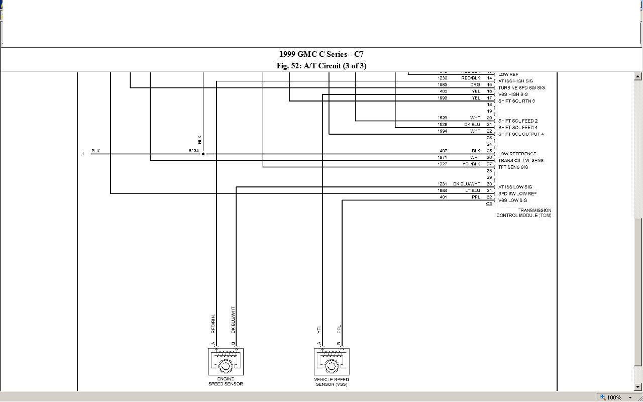 Can You Help Me With A Wiring Diagram For A 1999 Chevy C7500 With A Cat 3126b And An Allison Md3060p Transmission I M