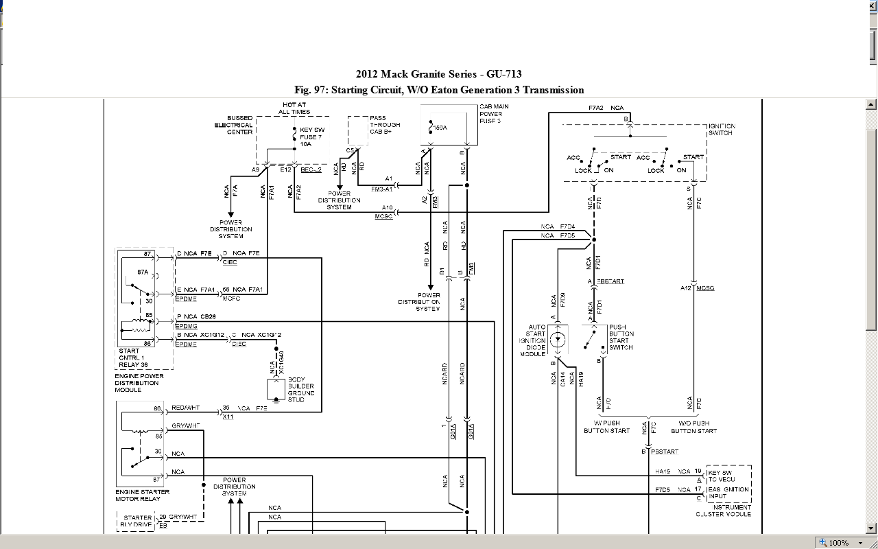 mack superliner wiring diagram