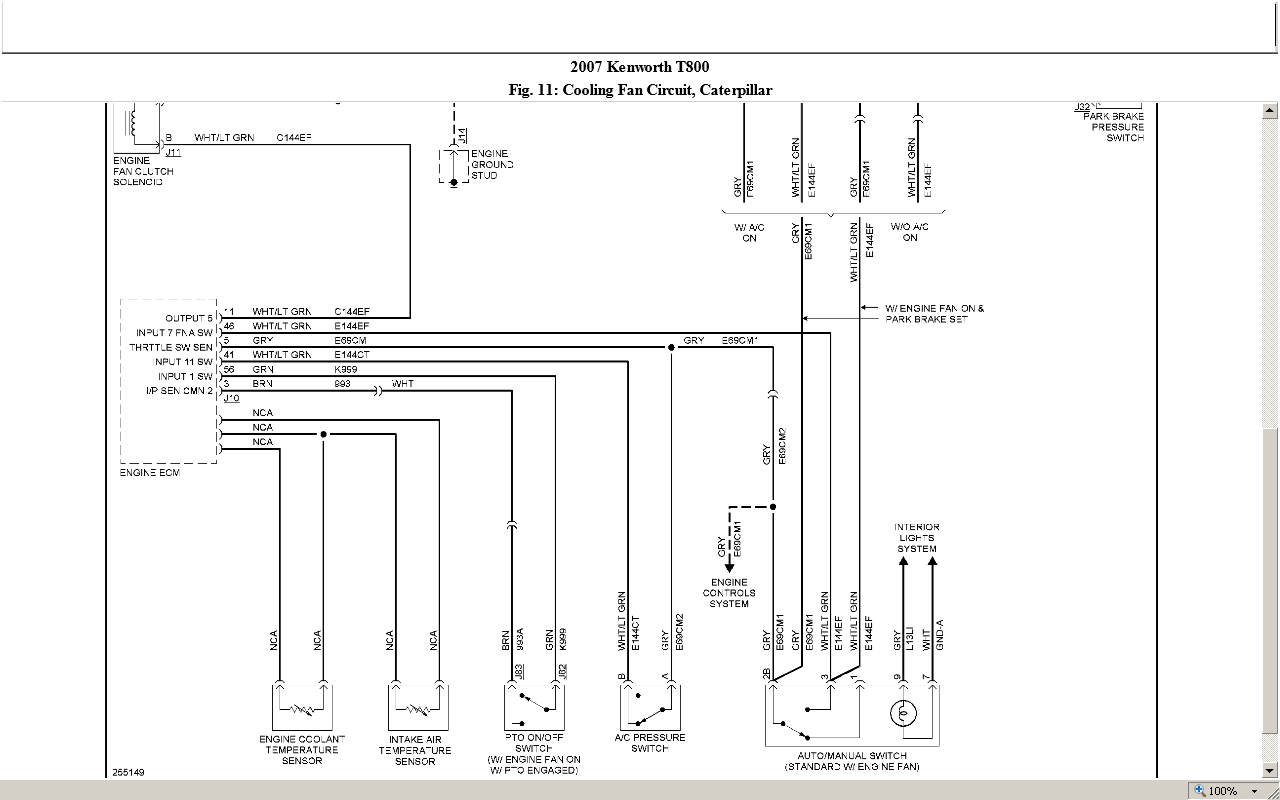 sterling lt9500 wiring diagram 2003