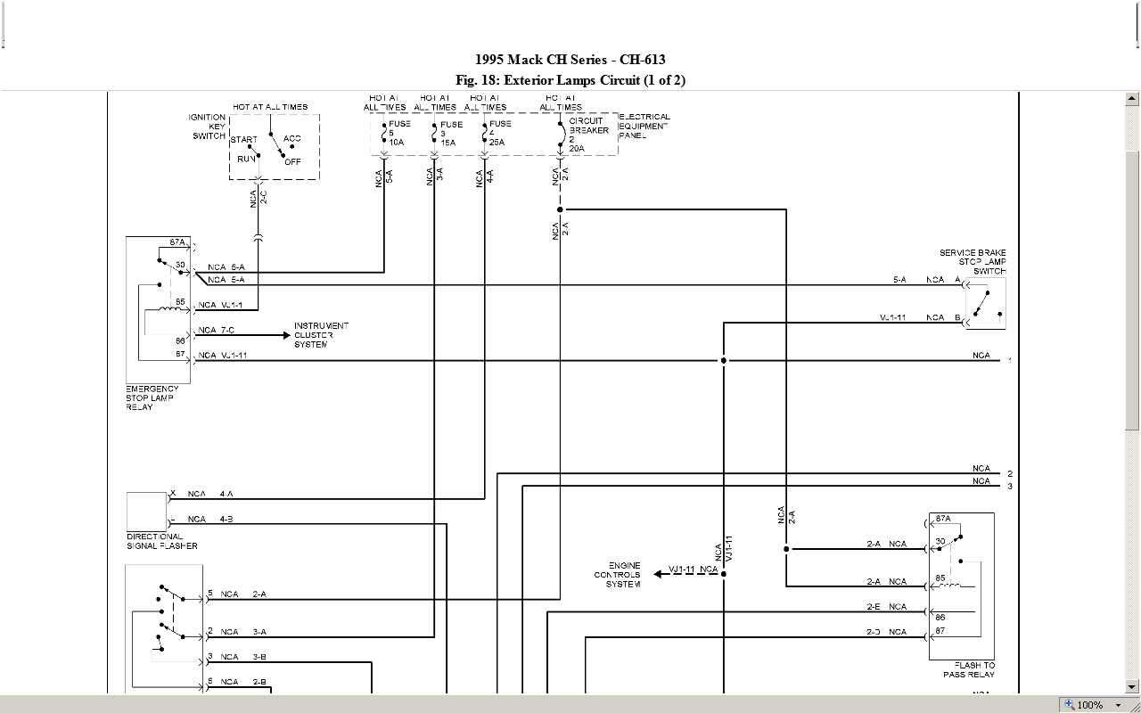 2014 10 22_215424_a1 mack truck engine wiring harness mack engine problems and solutions 2000 mack ch613 wiring diagram at fashall.co