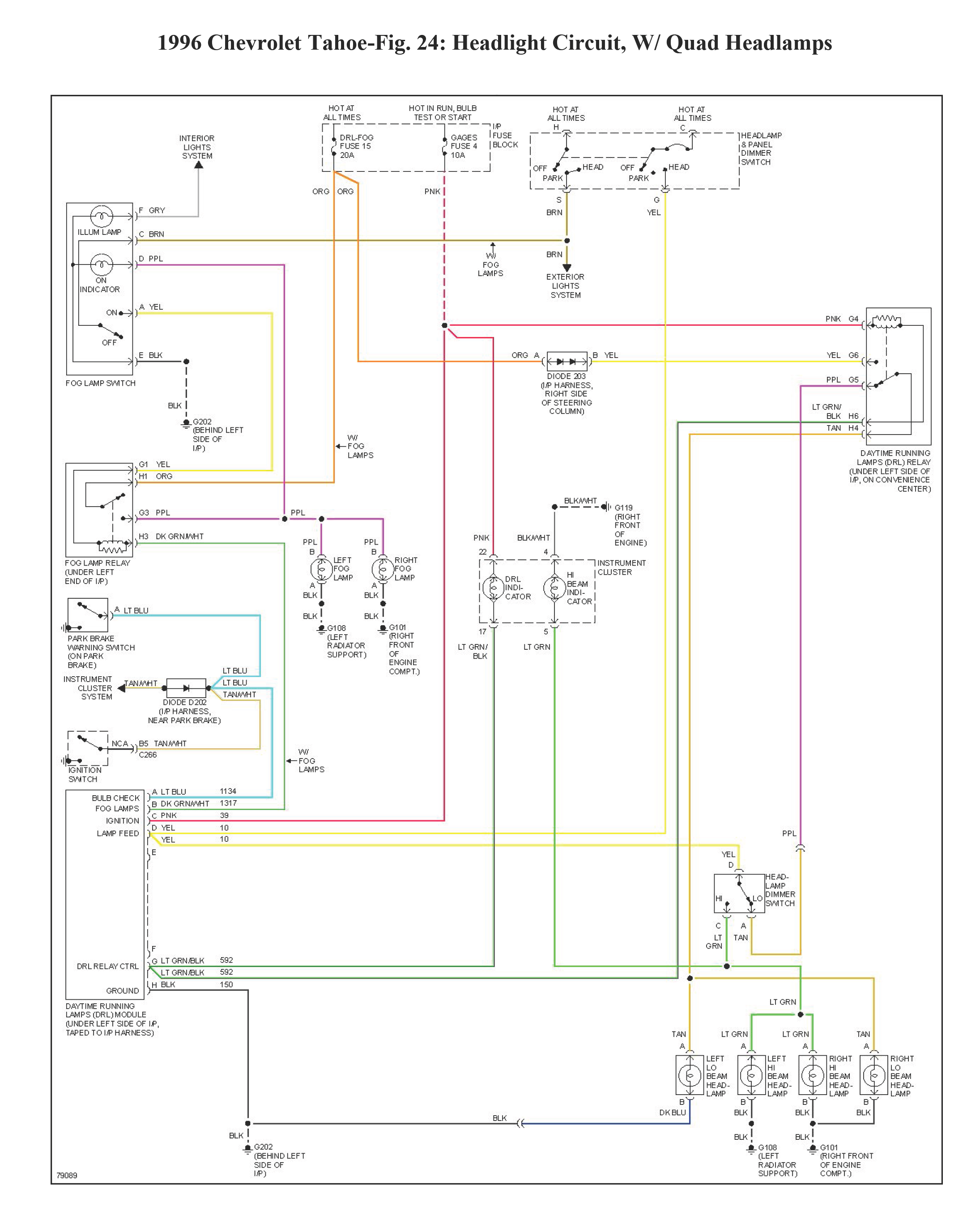 i have a 96 tahoe that had a western plow on it the plow is gone Western Plow Relay Diagram
