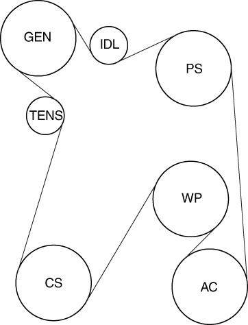 1993 cadillac eldorado belt routing rh justanswer com 2005 cadillac deville belt routing diagram 2000 cadillac deville serpentine belt routing diagram