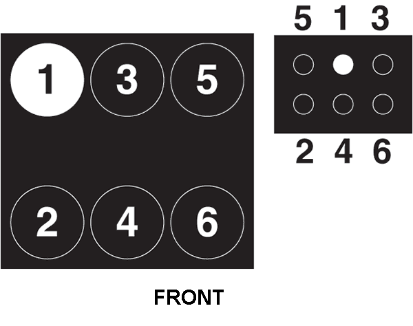 What Is The Firing Order For A 2009 Dodge Grand Caravan