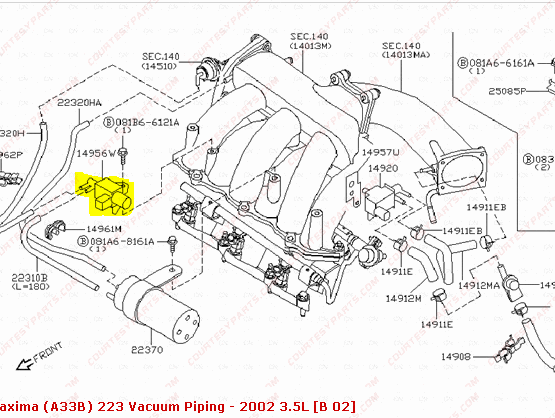 where can i found a p1800  vias solenoid valve  code for a