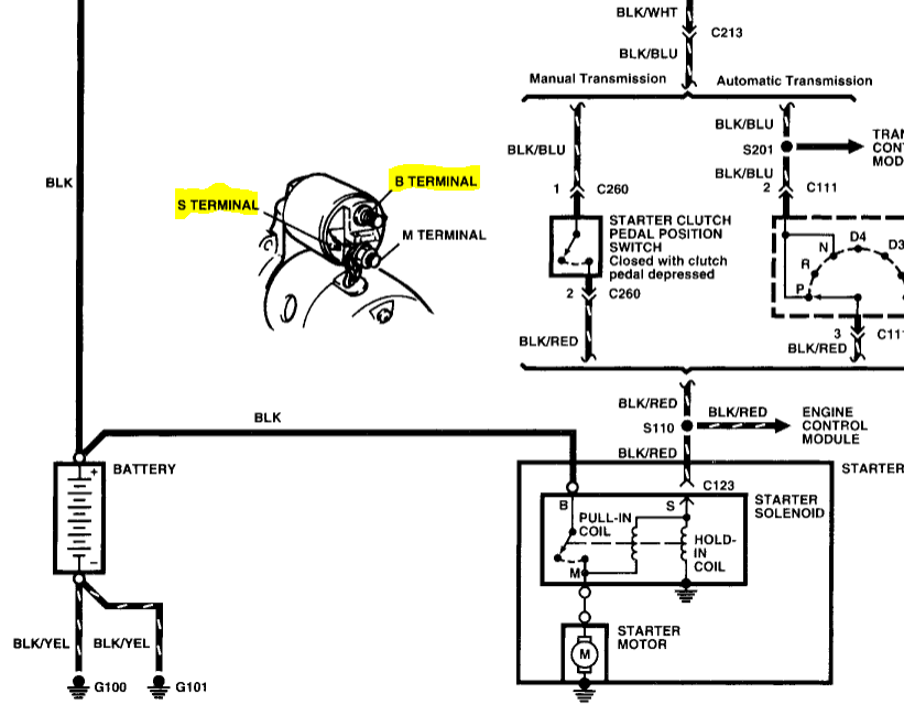I cannot read the diagram of the starter electrical system on my graphic asfbconference2016 Images