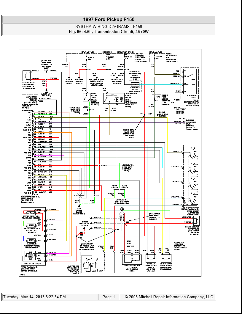 97 ford f150 speed sensor