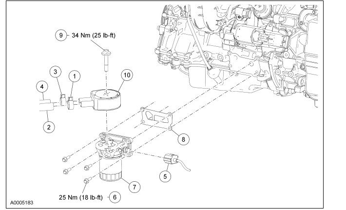 Graphic: Ford 4 6 Oil Filter Diagram At Scrins.org