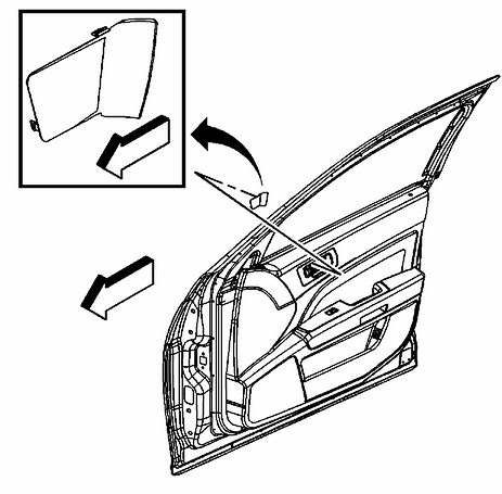 How Do I Remove The Drivers Side Door Panel To Replace The Window