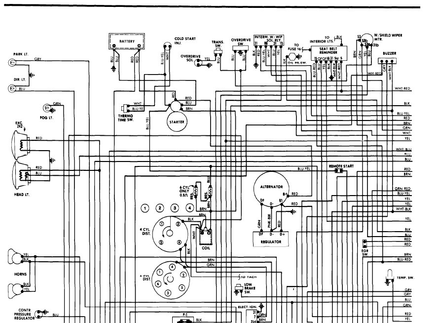 We Need A Wiring Diagram For The Fuel Control System