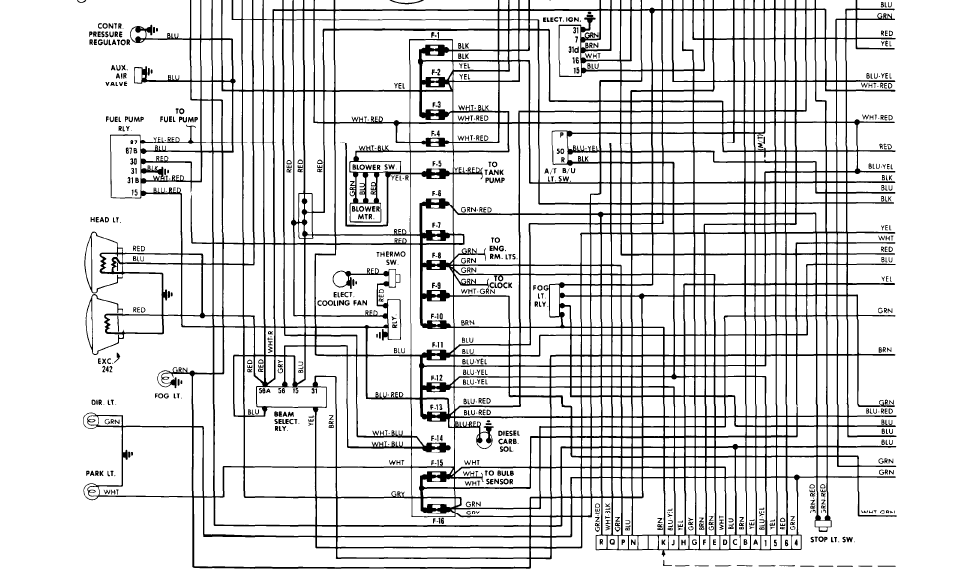 Wiring diagramcold start injector idle bypass motorsolenoid – Volvo Xc90 Wiring Diagram