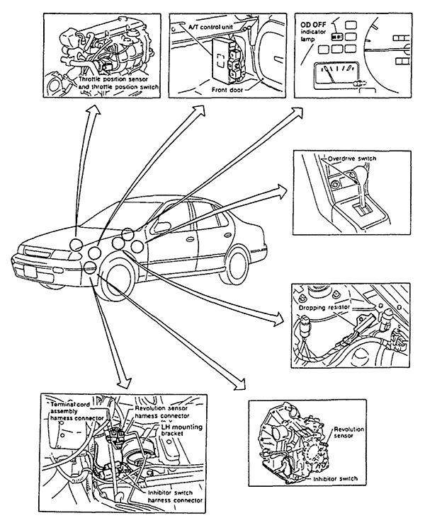 2009 Nissan Frontier Speedometer