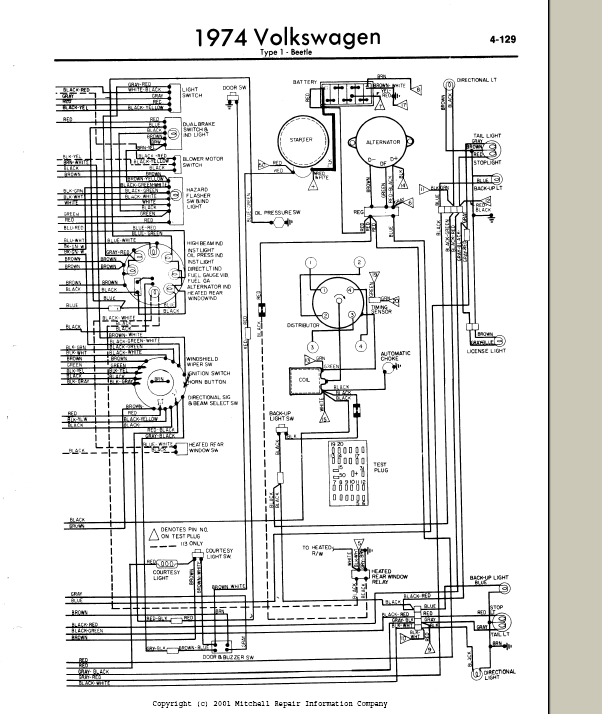 vw bug wiring harness diagram wiring diagram 74 VW Beetle MPG wiring harness for 74 vw bug schematic wiring diagram